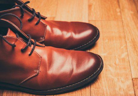 Leren schoenen schoonmaken azijn